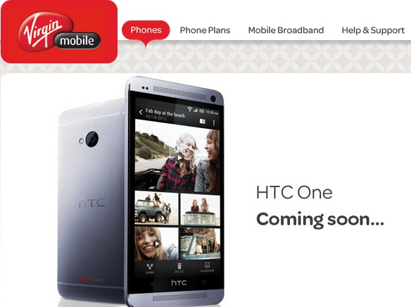HTC One Virgin Mobile