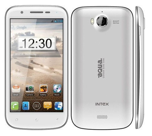 Intex Aqua Quad Core