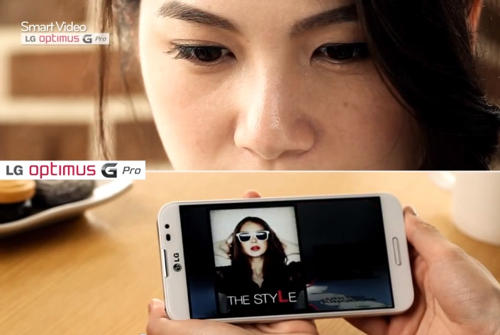 LG Optimus G Pro Smart Video