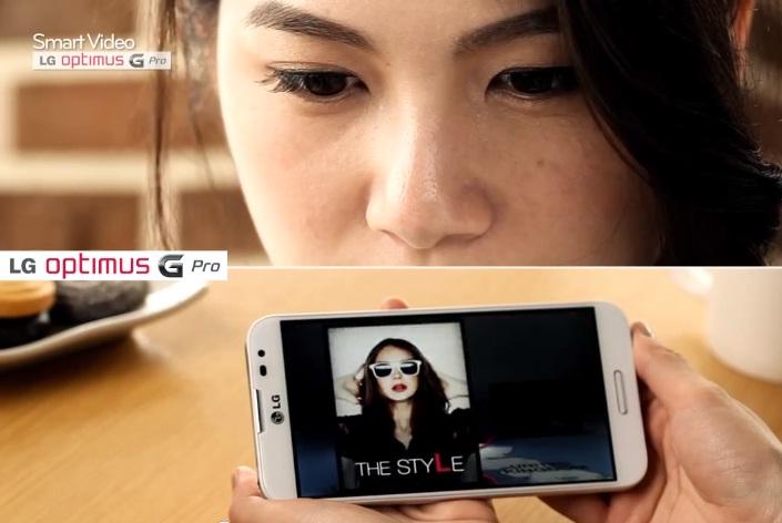 LG Optimus G Pro Smart Video