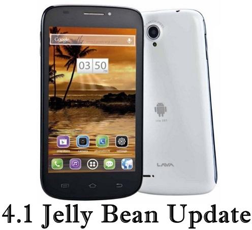 Lava Iris 501 Android update