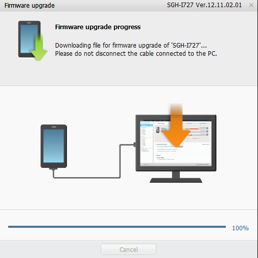 Samsung Galaxy S II Skyrocket Update