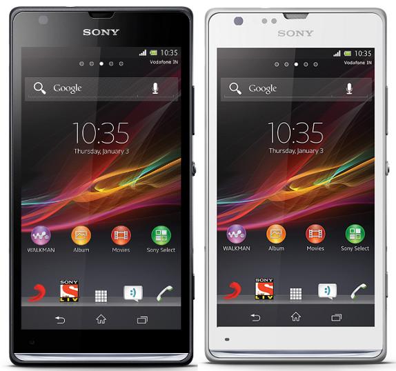 Sony XPeria SP phone