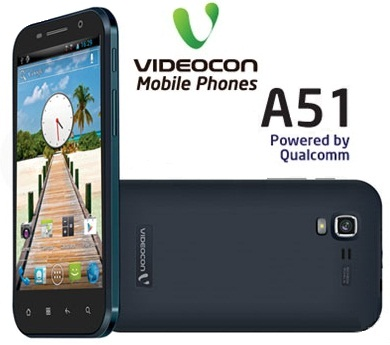 Videocon A51 phone