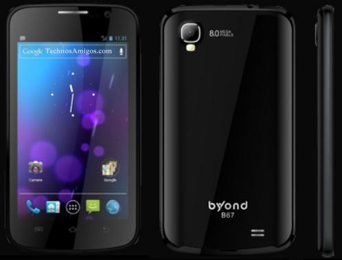 Byond B67 phone