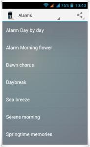 Galaxy S4 Alarm