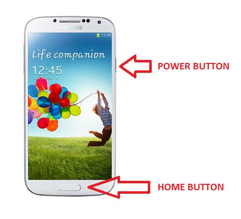 Galaxy S4 Screenshot