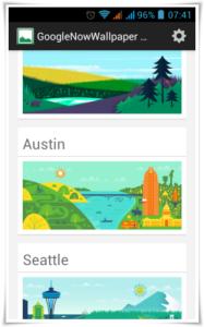 Google Now Wallpaper Berlin
