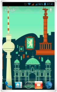Google Now Wallpaper London