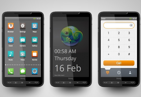 HTC HD2 Firefox OS