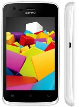 Intex Star White Phone