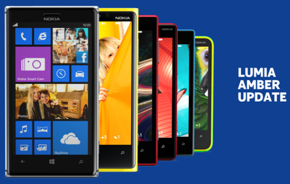 Nokia Lumia Windows Amber Update