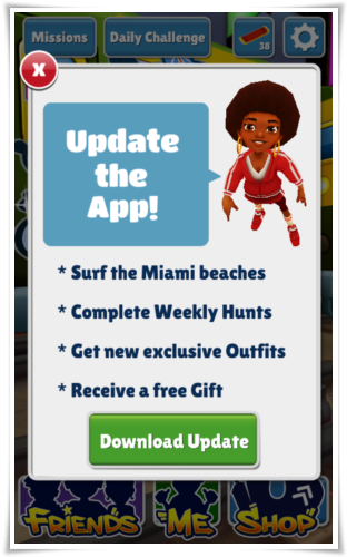 Subway Surfer Miami Florida World Tour