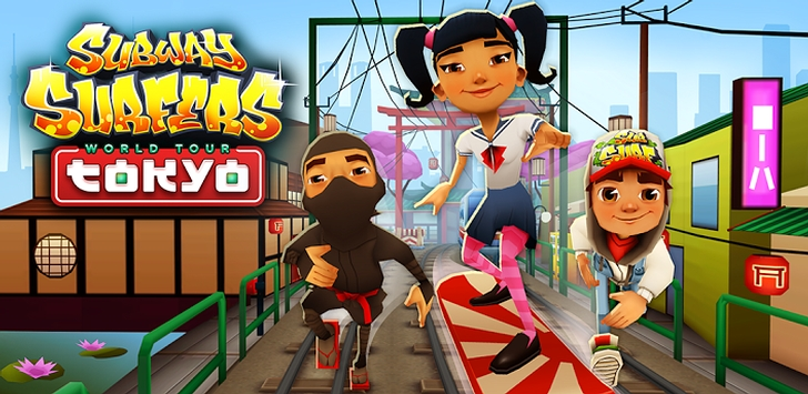 Subway Surfers World Tour Now Reaches Tokyo Japan