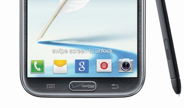 Verizon Samsung Galaxy Note II