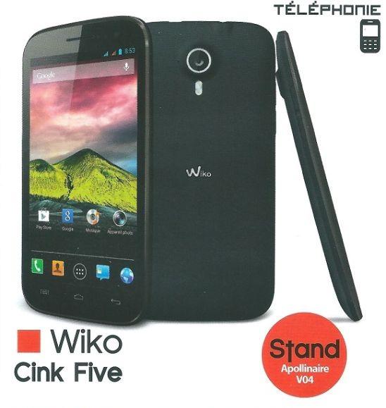 Wiko Cink Five