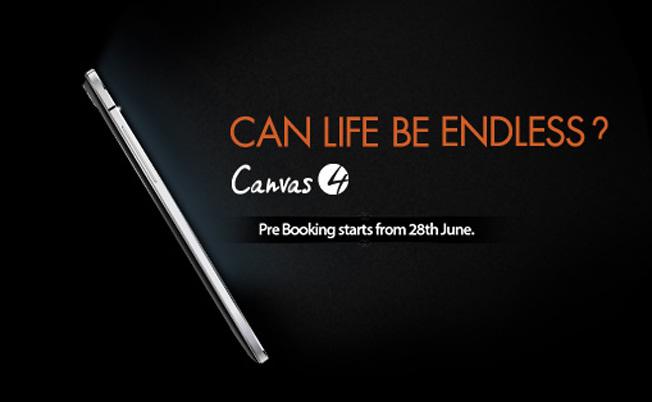 Canvas 4 Phone