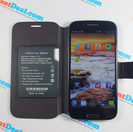OrientPhone S4 Package