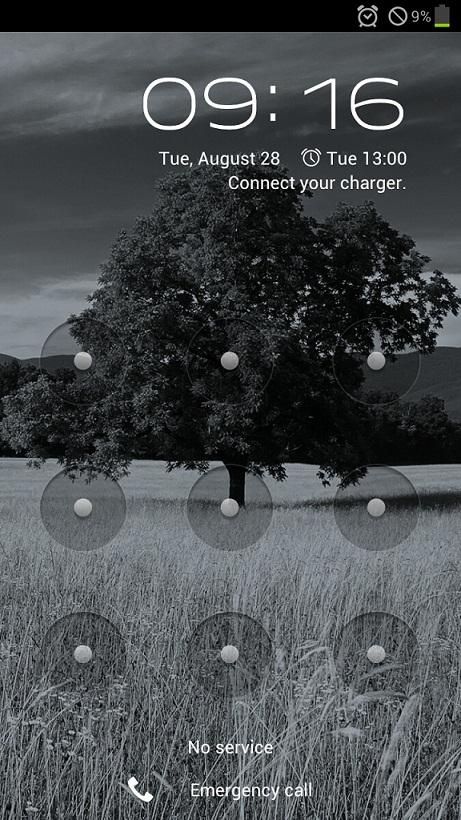 Samsung Galaxy S3 Lockscreen