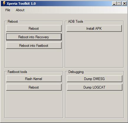 Sony Xperia Toolkit