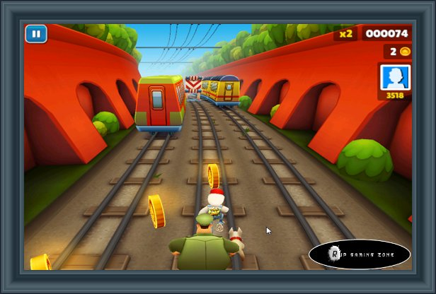 Enjoy Subway Surfers HD Game on your PC for Free Download