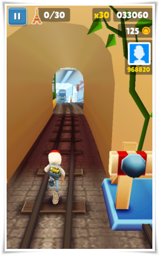 Subways Surfer Paris iOS