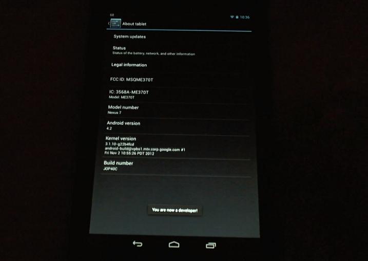 USB Debugging Android 4.2