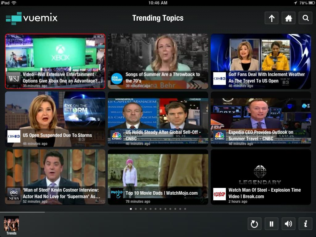 Vuemix Video Browser
