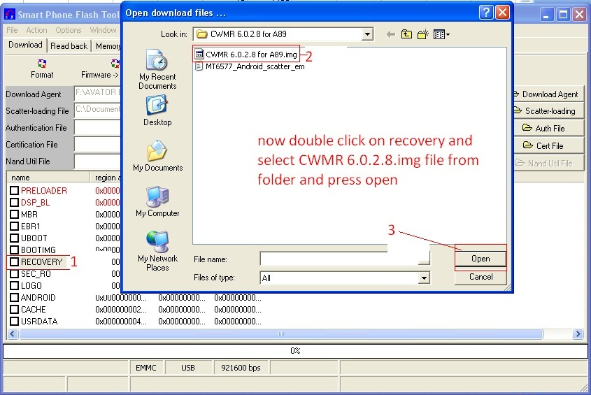 Double Click Recovery