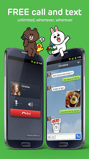 Line App Free Text, Stickers