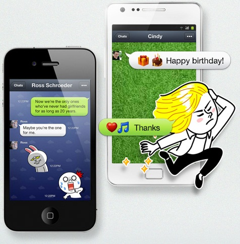 Line Fun Stickers