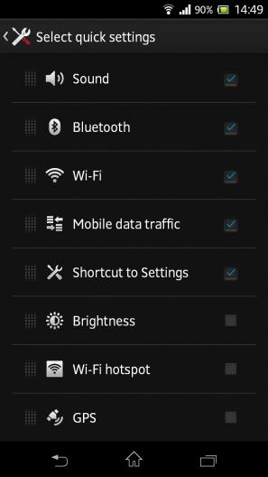 Sony Xperia ZR Phone
