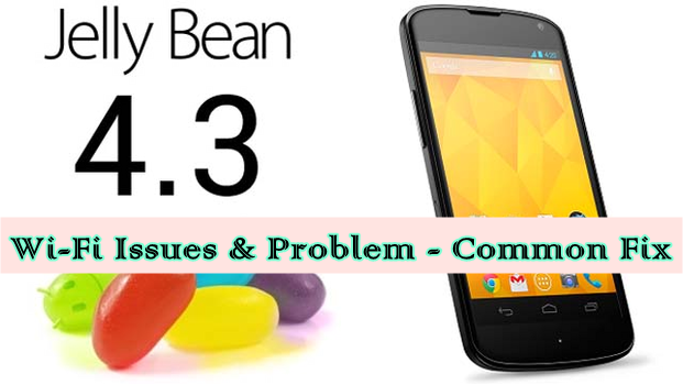 Android 4.3 Jelly Bean Wi-Fi