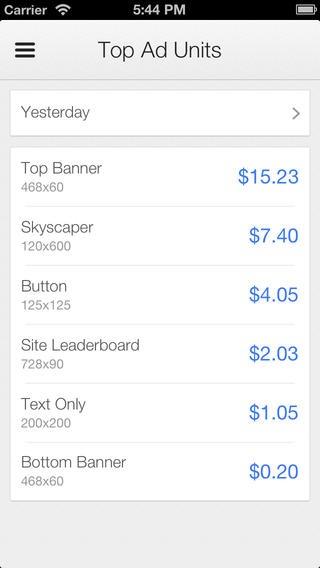 Google Adsense Android App