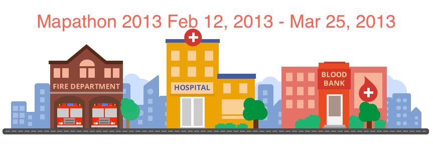 Google Mapathon 2013