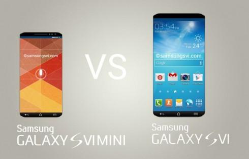 Samsung Galaxy S6 vs S6 Mini