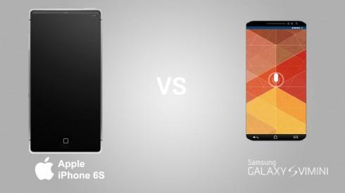 Samsung Galaxy S6 vs iPhone 6S