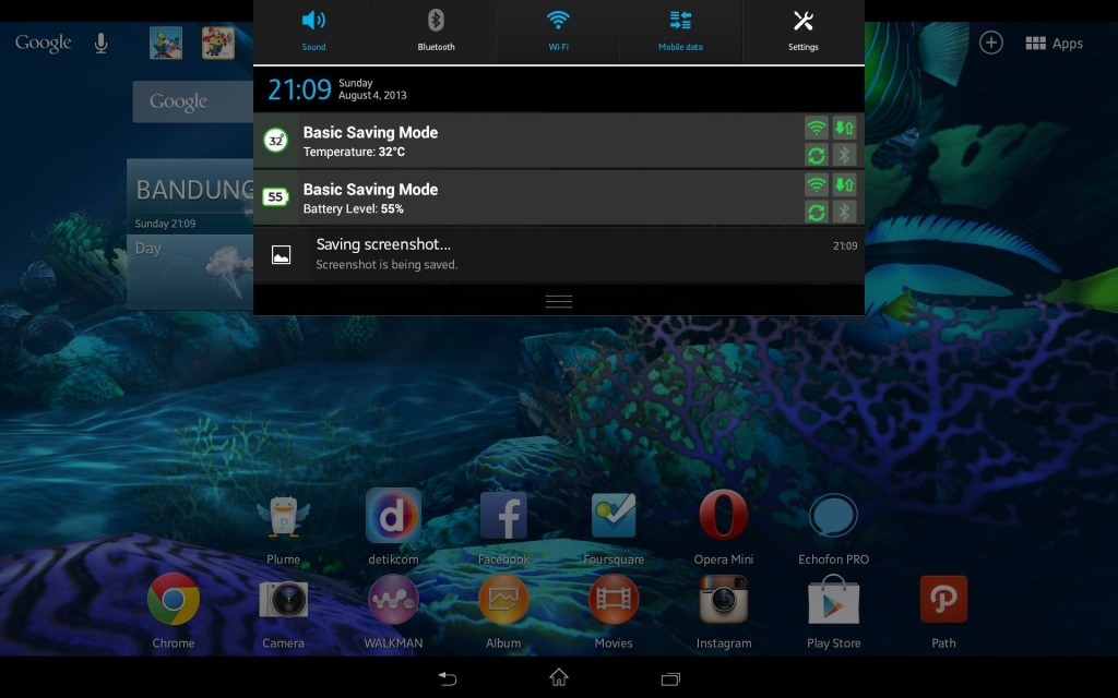 Sony Xperia Tablet Z LTE Android 4.2.2