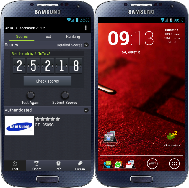 AOSP Android 4.2.2 Galaxy S4