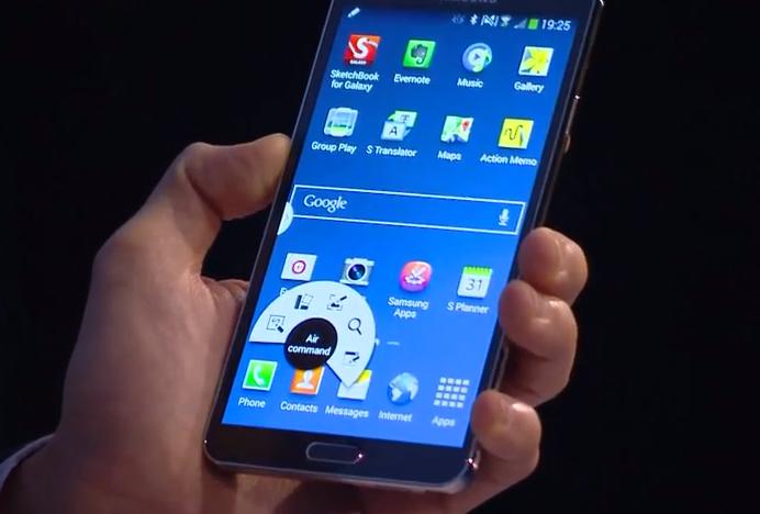 Galaxy Note 3 Air View