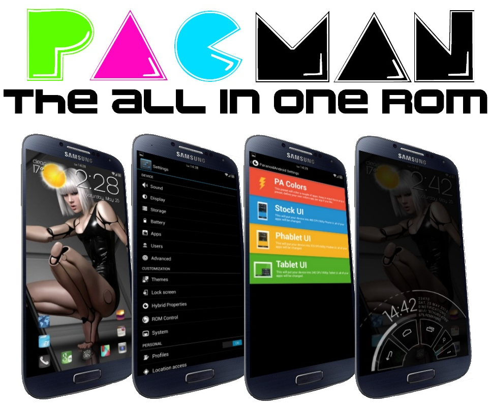 Galaxy S4 PACMan All in One ROM