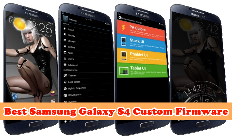 Galaxy S4 custom firmware