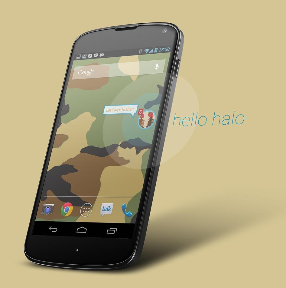 HTC One Paranoid Halo ROM