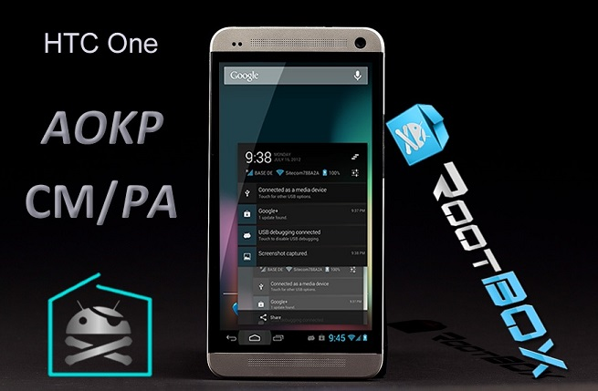 HTC OneVanilla RootBox ROM