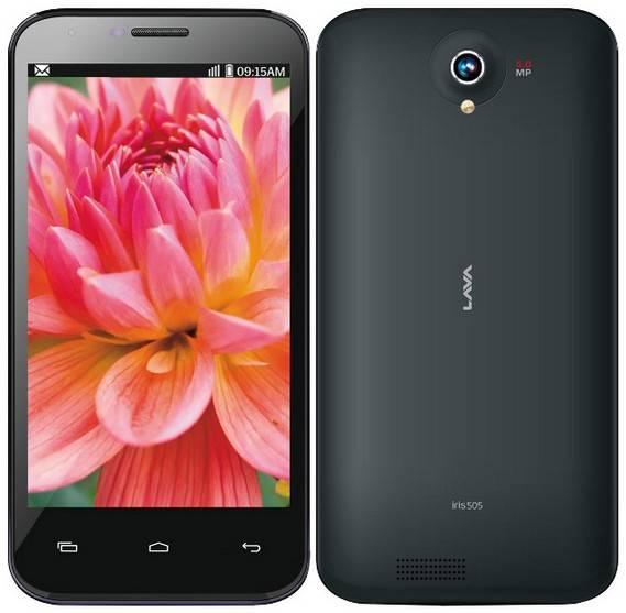 Lava Iris 505 Phone