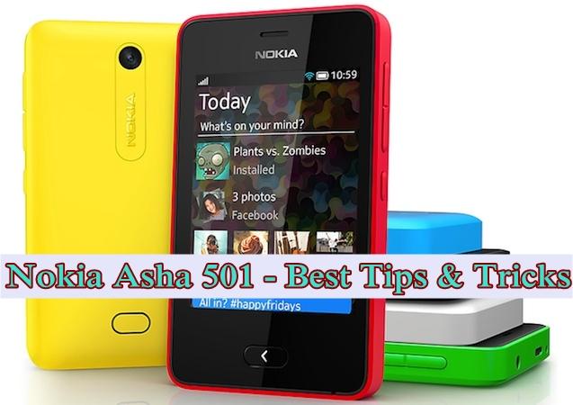 Nokia Asha 501 Tips