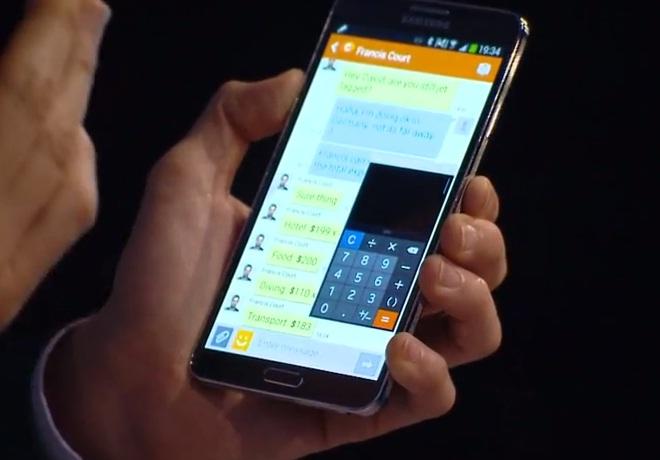 Samsung Galaxy Note 3 Pen Window