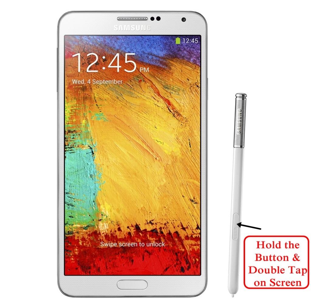 Samsung Galaxy Note 3 Spen screenshot