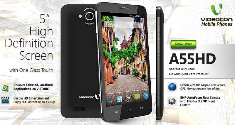 Videocon A55 HD