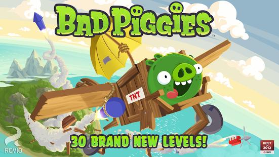 Bad Piggies Game